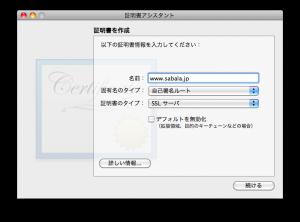SSL の発行