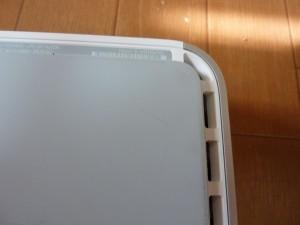 Mac mini Server の裏側
