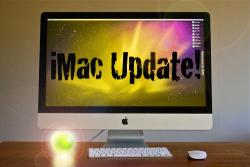 黄色い iMac