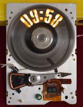 Hard Disk Clock