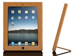iPad wood case