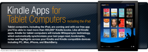 Kindle Apps for iPad