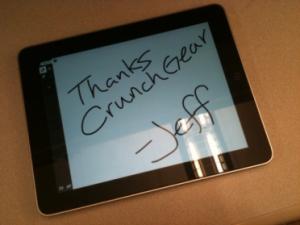 iPad Awww
